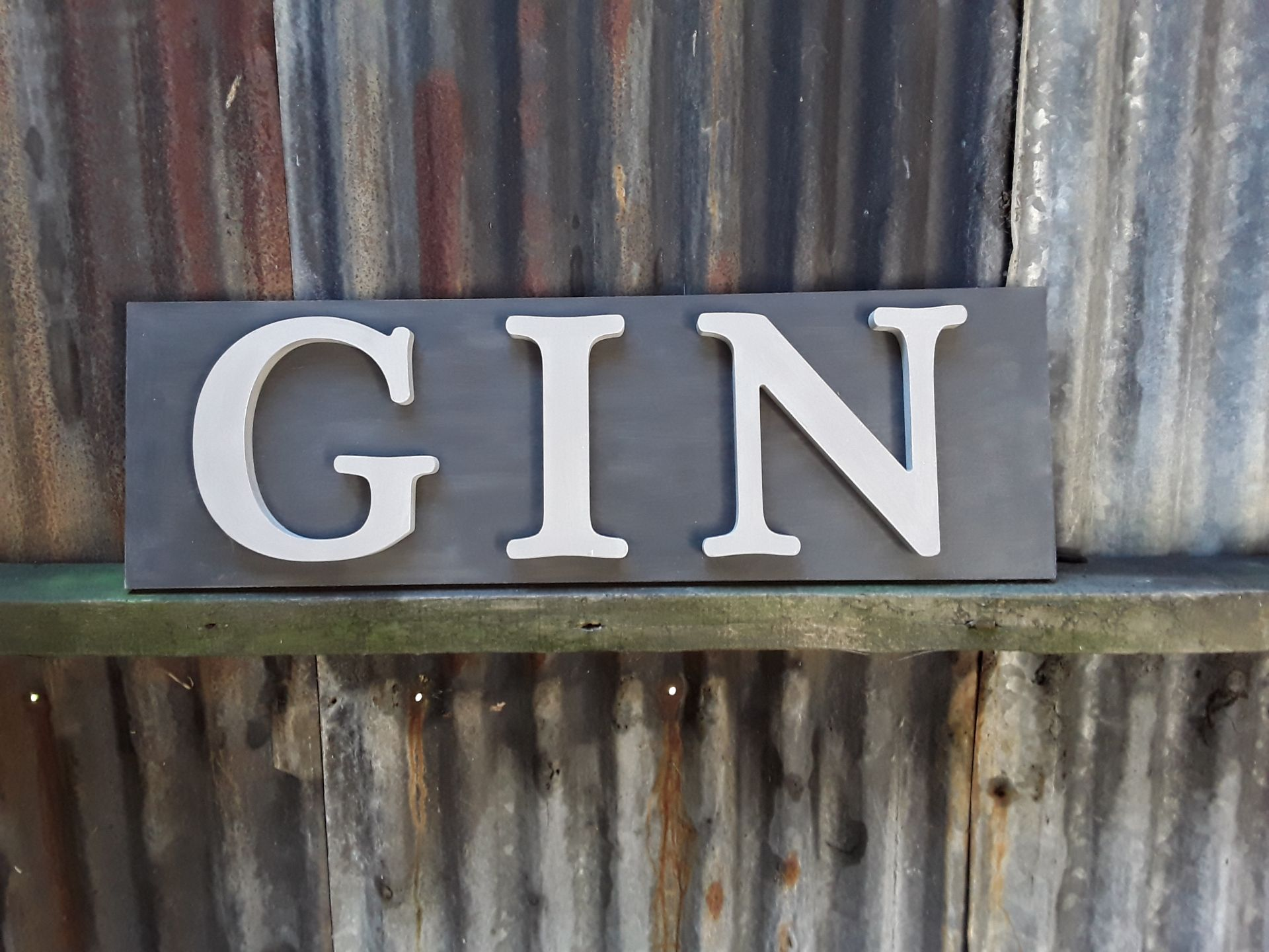 Large Gin Sign