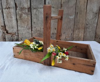 Rustic Solid Based Trug