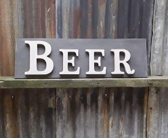 BEER Wordboard