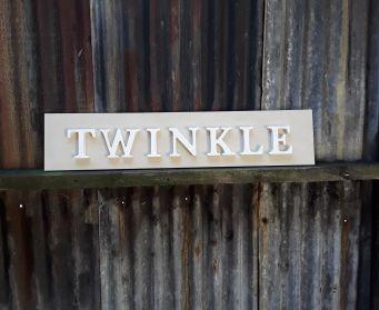 TWINKLE Wordboard