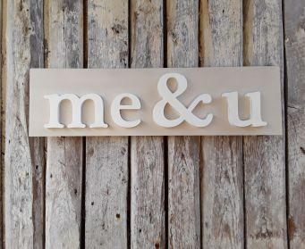 Me & U Wordboard