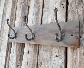 Painted Grey Hooks