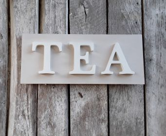 TEA Painted Wordboard