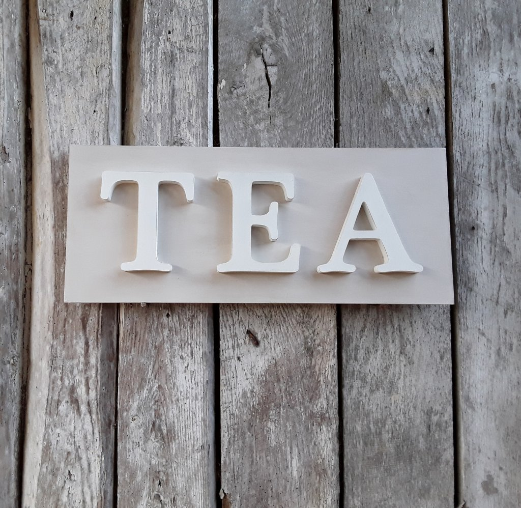 TEA Painted Sign